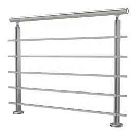 Garde corps Modulo barres carrées