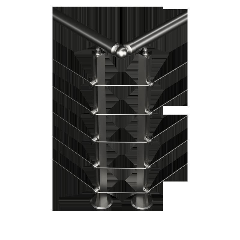 garde corps inox inox design id e. Black Bedroom Furniture Sets. Home Design Ideas