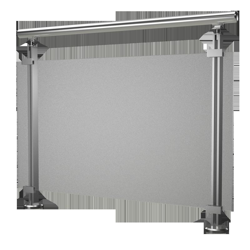 garde corps modulo verre hms design. Black Bedroom Furniture Sets. Home Design Ideas