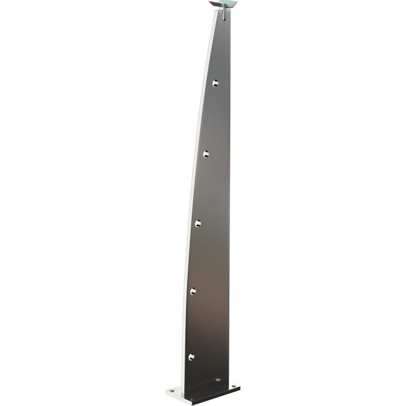 Poteau design longline for Lampe solaire pour poteau de terrasse