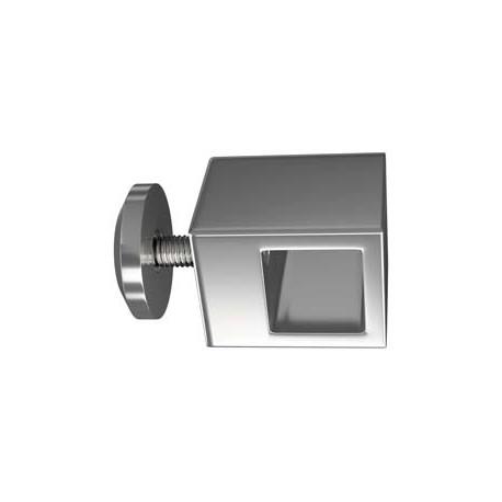 4 fixations Plexiglas ou verre sur parallèle carré PX201