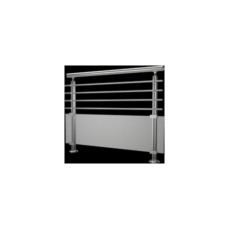 garde corps modulo verre et aluminium hms design. Black Bedroom Furniture Sets. Home Design Ideas