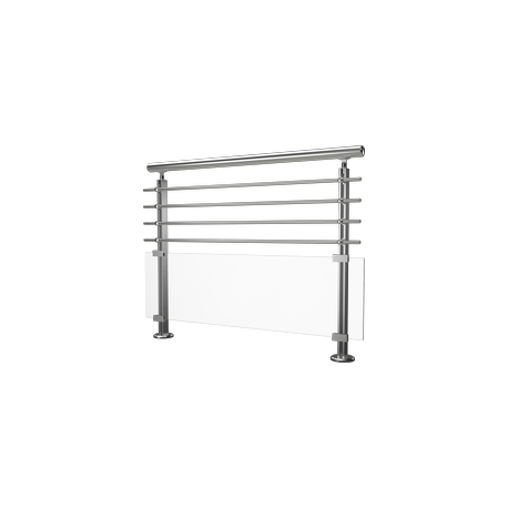 garde corps modulo verre et aluminium hms design. Black Bedroom Furniture Sets. Home Design Ideas